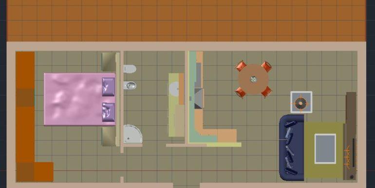 piantina 3d futura ombraggiata